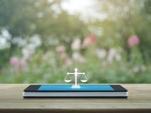 Concepto en línea del servicio jurídico del negocio fotografía de archivo libre de regalías