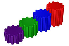 Concepto: Escalera del éxito Imágenes de archivo libres de regalías