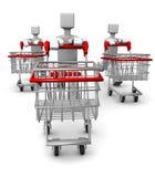 Concepto estacional de la venta y de las compras Imagenes de archivo