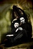 Concepto extranjero de la madre y de la hija Fotos de archivo