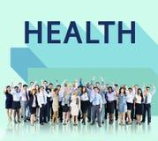 Concepto físico de la aptitud del tratamiento de la atención sanitaria de la salud foto de archivo