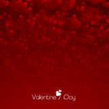 Concepto feliz de la celebración del día de tarjetas del día de San Valentín ilustración del vector