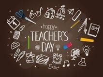 Concepto feliz del día de los profesores libre illustration