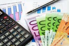 Concepto financiero Fotografía de archivo