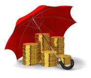 Concepto financiero de la estabilidad y del éxito libre illustration