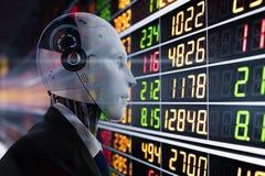 Concepto financiero de la tecnología stock de ilustración