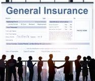 Concepto financiero del seguro del accidente general de la salud foto de archivo libre de regalías