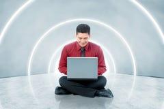 Concepto futuro de la tecnolog?a imágenes de archivo libres de regalías
