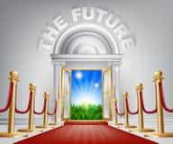 Concepto futuro positivo Fotografía de archivo libre de regalías