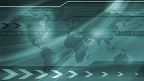 Concepto general del mundo y de la tecnología? Foto de archivo libre de regalías