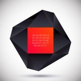 Concepto geométrico abstracto El panel solar y muestra para la energía alternativa Ilustración del vector Imagen de archivo