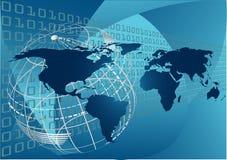 Concepto global ilustración del vector