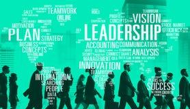 Concepto global de Boss Management Coach Chief de la dirección fotografía de archivo libre de regalías