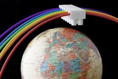 Concepto global de la energía Imagenes de archivo