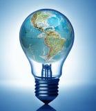 concepto global de la energía Foto de archivo libre de regalías