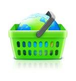 Concepto global de las compras Imagenes de archivo