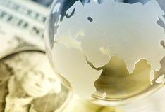 Concepto global de las finanzas fotos de archivo libres de regalías