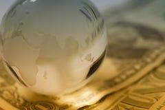 Concepto global de las finanzas Imagen de archivo libre de regalías
