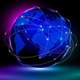 Concepto global del Internet libre illustration