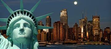 Concepto hermoso del recorrido del turismo para New York City Imágenes de archivo libres de regalías