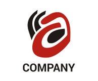 Concepto inalámbrico 1 del logotipo de la hormiga Fotos de archivo libres de regalías