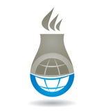 Concepto industrial, ambiental Imagen de archivo libre de regalías