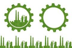 Concepto industrial del icono de la idea Foto de archivo