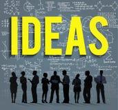 Concepto intelectual de la sabiduría de la inteligencia de la innovación de las ideas Fotografía de archivo libre de regalías