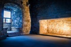 Concepto interior exterior y caliente frío Fotografía de archivo libre de regalías