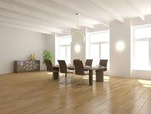 Concepto interior vacío blanco para la casa Foto de archivo libre de regalías