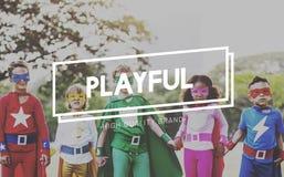 Concepto juguetón de Joy Leisure Playing Recreation Play de la diversión Fotografía de archivo libre de regalías