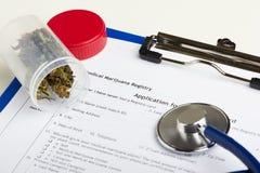Concepto legal de las drogas Imagen de archivo