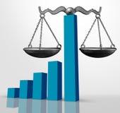 Concepto legal del negocio de la ley financiera libre illustration