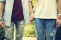 Concepto lesbiano de la felicidad de los momentos de los pares de LGBT Imagenes de archivo