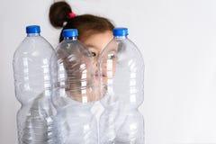 Concepto libre, de ahorro plástico del planeta Imagen conceptual para la campaña plástica anti foto de archivo