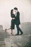 Concepto loco del amor Imagenes de archivo