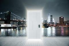 Concepto luminoso de la entrada Foto de archivo libre de regalías