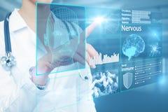 Concepto médico de la innovación Foto de archivo