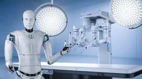 Concepto médico de la tecnología stock de ilustración