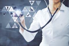 concepto médico de las tecnologías Imagenes de archivo
