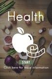 Concepto médico sano de la nutrición del ejercicio activo de la salud fotos de archivo