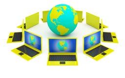 Concepto móvil del Internet Fotografía de archivo libre de regalías