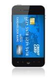 Concepto móvil del pago libre illustration