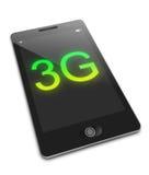 Concepto móvil 3G. Imágenes de archivo libres de regalías