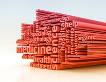 Concepto of medicine Stock Images
