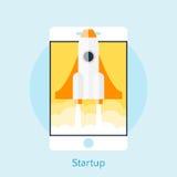 Concepto moderno del ejemplo del vector para la nueva estrella del proyecto del negocio libre illustration