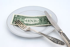 Concepto monetario Fotos de archivo