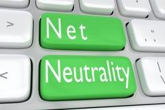 Concepto neto de la neutralidad ilustración del vector