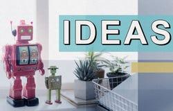 Concepto objetivo de la acción de la estrategia de la oferta de las ideas frescas Imágenes de archivo libres de regalías