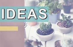 Concepto objetivo de la acción de la estrategia de la oferta de las ideas frescas Foto de archivo